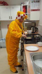 Breakfast club has fun for Children in Need 2016