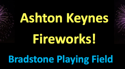 AK Fireworks  at Bradstone Playing Fields Saturday November 5th