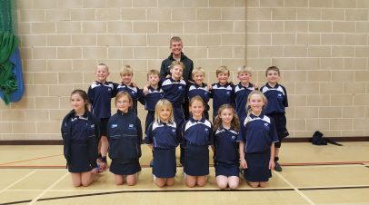 Year 3 and 4 shine at Kingshill athletics competition