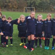 AK Girls football looking smart