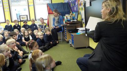 A special author visit for KS1