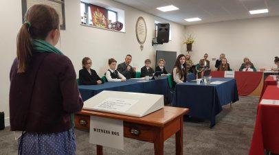 Year 6 Shine at Cirencester Mock Trials
