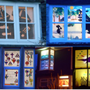 Ashton Keynes Window Wanderland