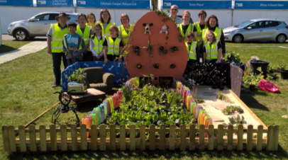 Team AK's 'Grand Day Out' wins SILVER at RHS Malvern Show!
