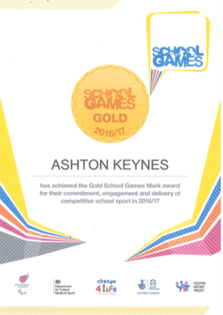 GOLD for Team AK!