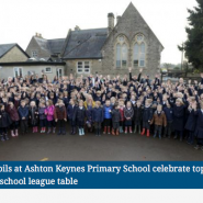 Headline news: AKPS Top Performing School in Wiltshire!