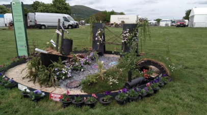 Team AK Steams Ahead at RHS Malvern Spring Garden Festival